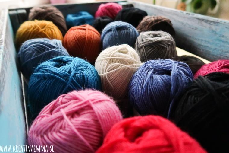 garner i många färger