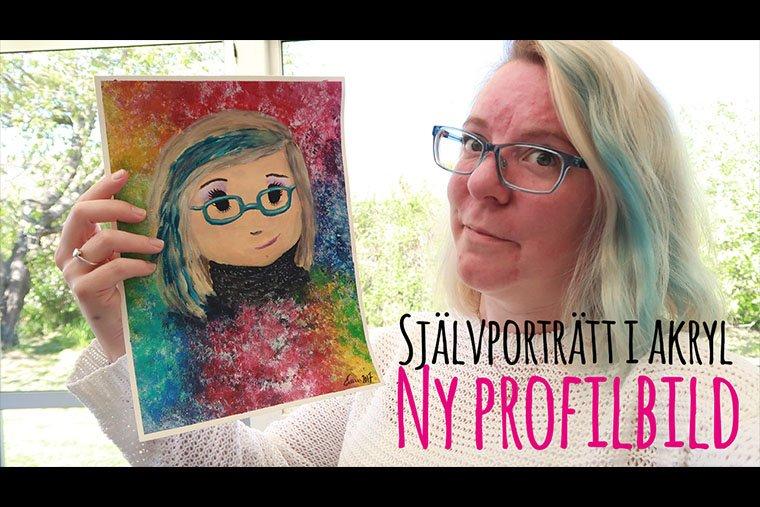 emma och självporträtt