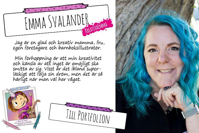 porträtt av Emma Svalander